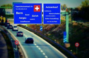 Schweiz weit Export Autoankauf