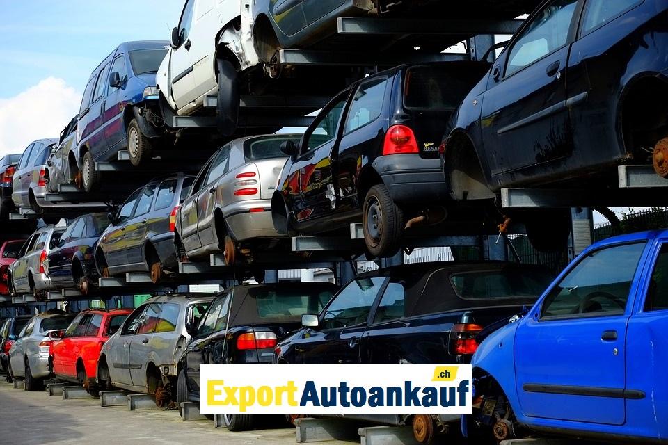 Autoabbruch Schweiz Kostenlos Autos Entsorgen